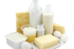 Молочные продукты при цистите