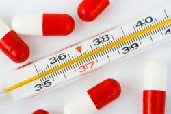 Повышение температуры - симптом простатита