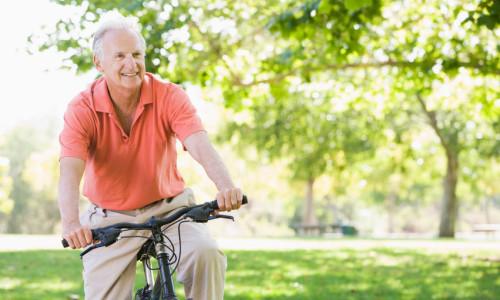 Поездки на велосипеде при простатите
