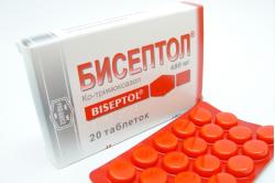 Бисептол для лечения хронического простатита